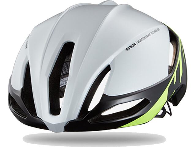 HJC Furion Semi-Aero Helmet gloss white/green